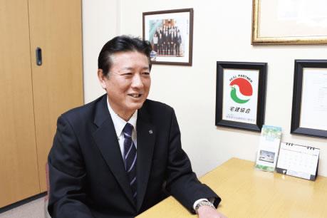 代表取締役会長 吉田 健一郎 写真